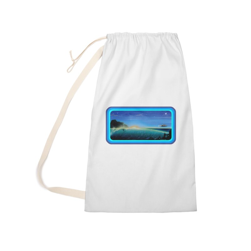 Surf Beyond Accessories Laundry Bag Bag by Dirty Donny's Apparel Shop