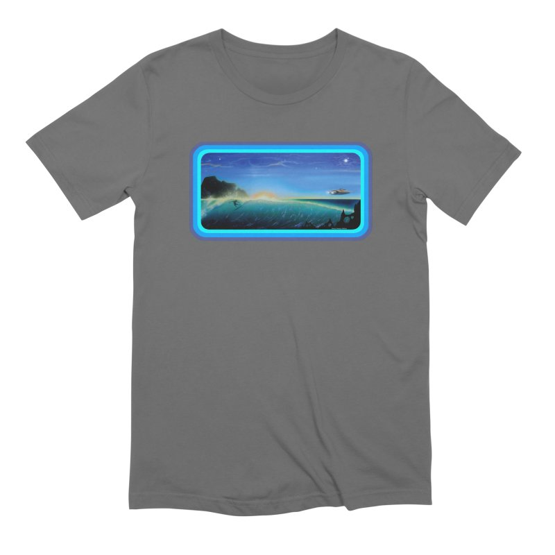 Surf Beyond Men's T-Shirt by Dirty Donny's Apparel Shop