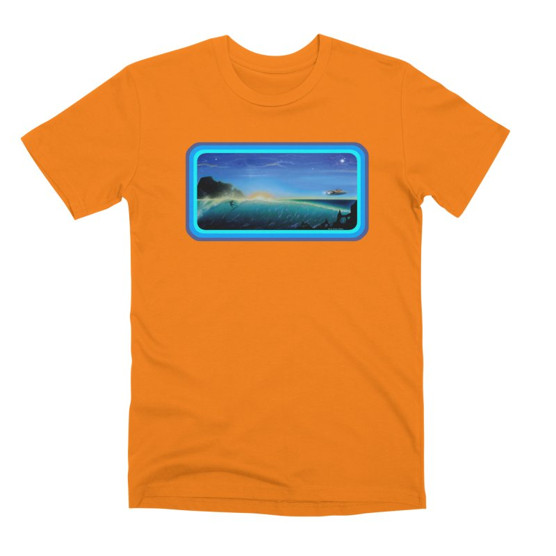 Surf Beyond Men's Premium T-Shirt by Dirty Donny's Apparel Shop