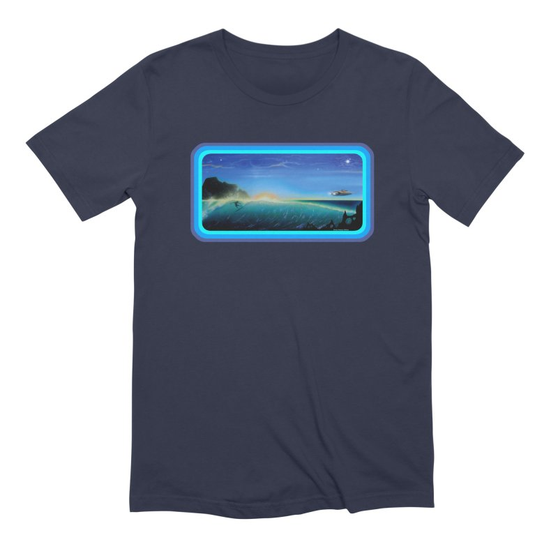Surf Beyond Men's Extra Soft T-Shirt by Dirty Donny's Apparel Shop