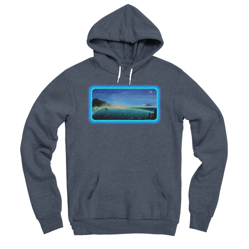 Surf Beyond Men's Sponge Fleece Pullover Hoody by Dirty Donny's Apparel Shop