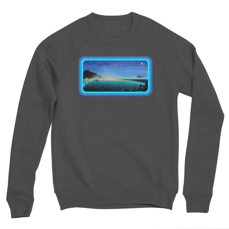 Surf Beyond Men's Sponge Fleece Sweatshirt by Dirty Donny's Apparel Shop