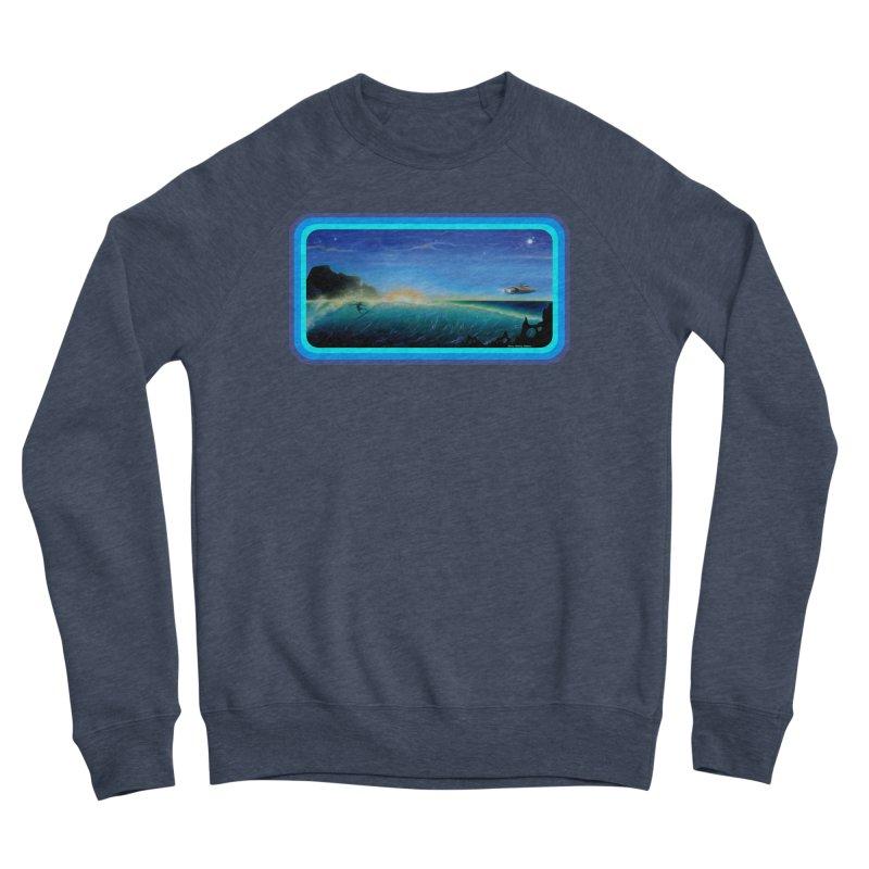 Surf Beyond Women's Sponge Fleece Sweatshirt by Dirty Donny's Apparel Shop