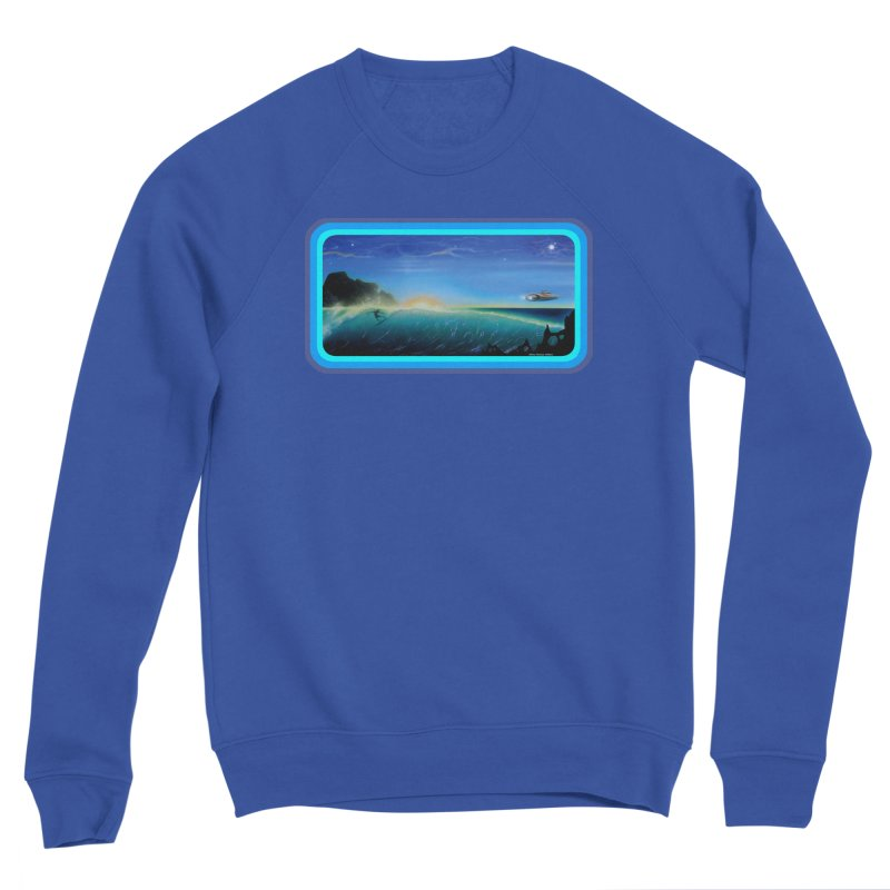 Surf Beyond Men's Sweatshirt by Dirty Donny's Apparel Shop