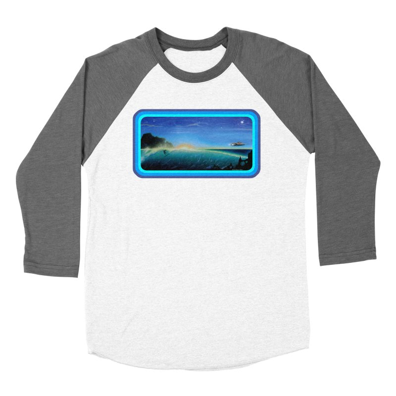 Surf Beyond Women's Longsleeve T-Shirt by Dirty Donny's Apparel Shop