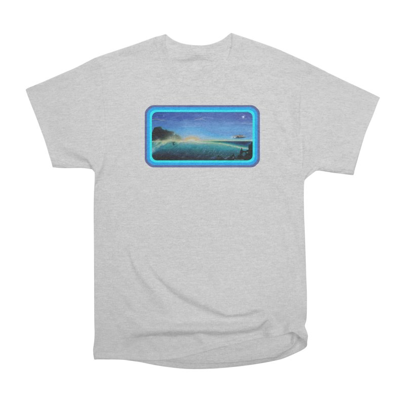 Surf Beyond Men's Heavyweight T-Shirt by Dirty Donny's Apparel Shop