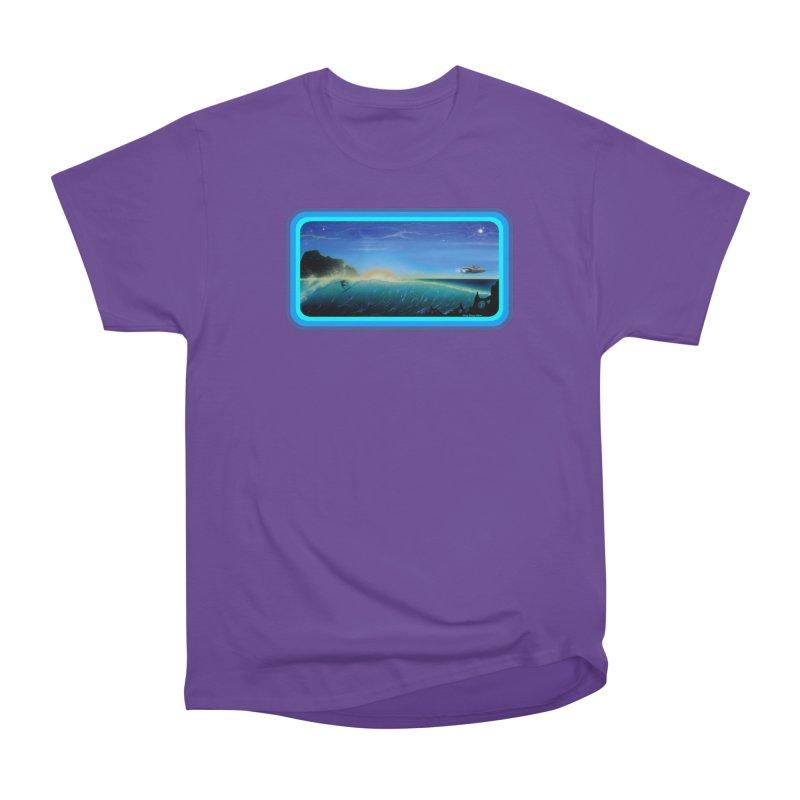 Surf Beyond Men's Heavyweight T-Shirt by Dirty Donny's Apparel Shop