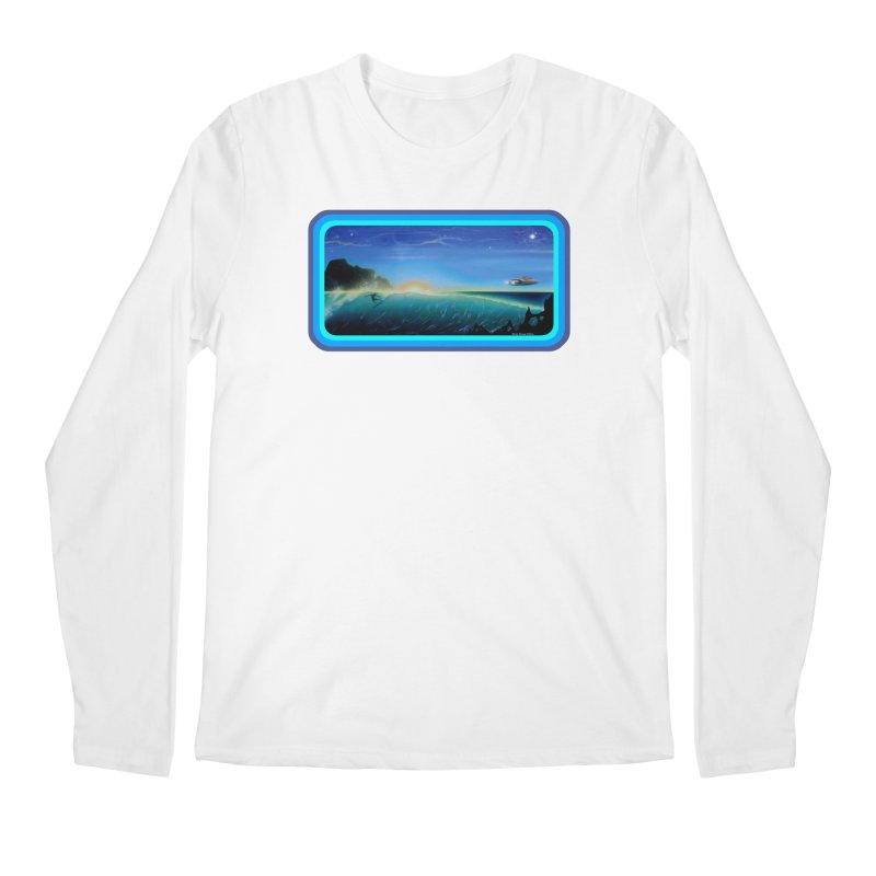 Surf Beyond Men's Regular Longsleeve T-Shirt by Dirty Donny's Apparel Shop