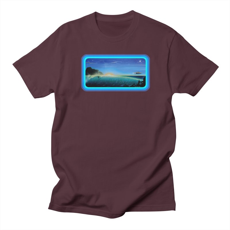Surf Beyond Women's Regular Unisex T-Shirt by Dirty Donny's Apparel Shop