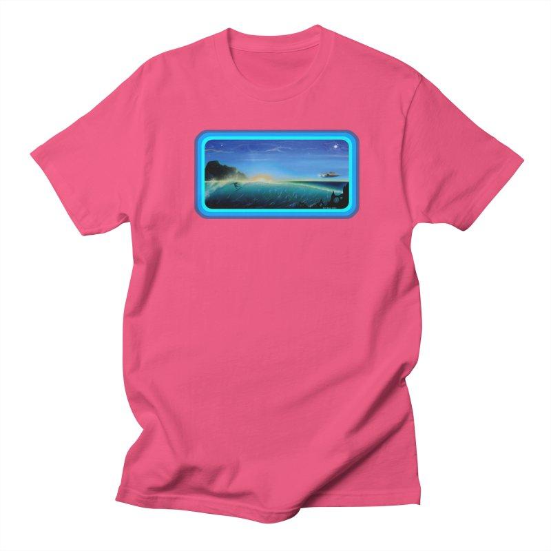 Surf Beyond Women's Regular Unisex T-Shirt by Dirty Donny's Apparel Shop