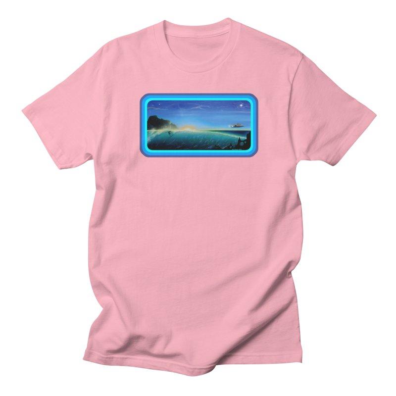 Surf Beyond Men's Regular T-Shirt by Dirty Donny's Apparel Shop