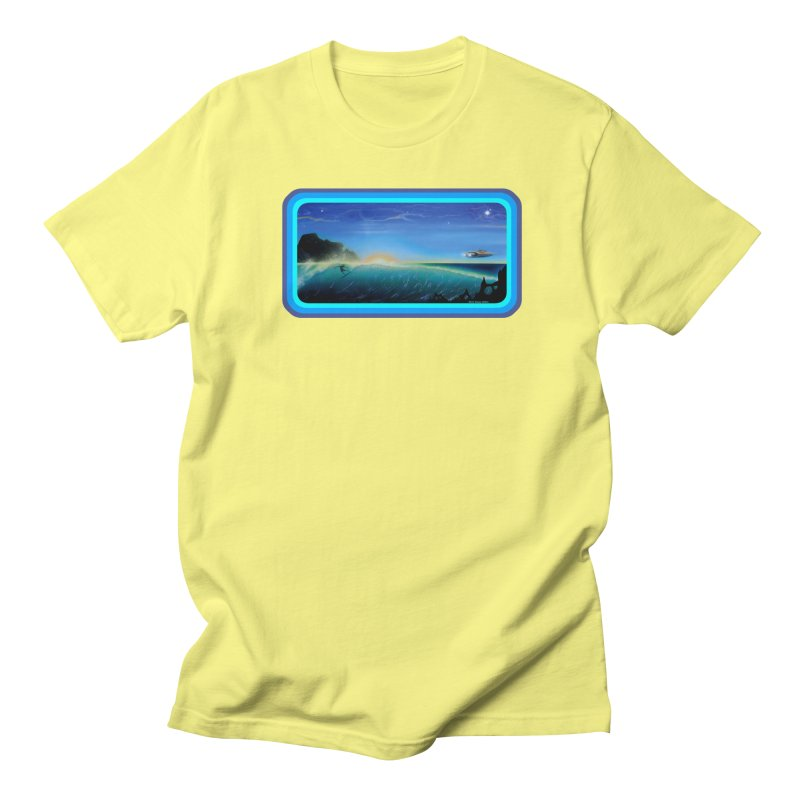 Surf Beyond Men's Regular T-Shirt by Dirty Donny's Apparel Shop