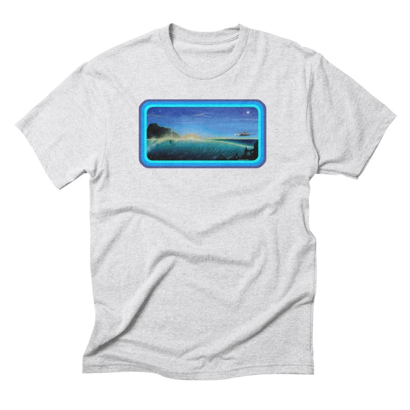 Surf Beyond Men's Triblend T-Shirt by Dirty Donny's Apparel Shop