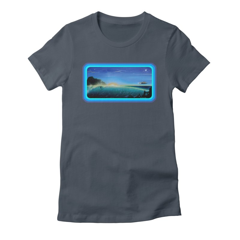 Surf Beyond Women's T-Shirt by Dirty Donny's Apparel Shop