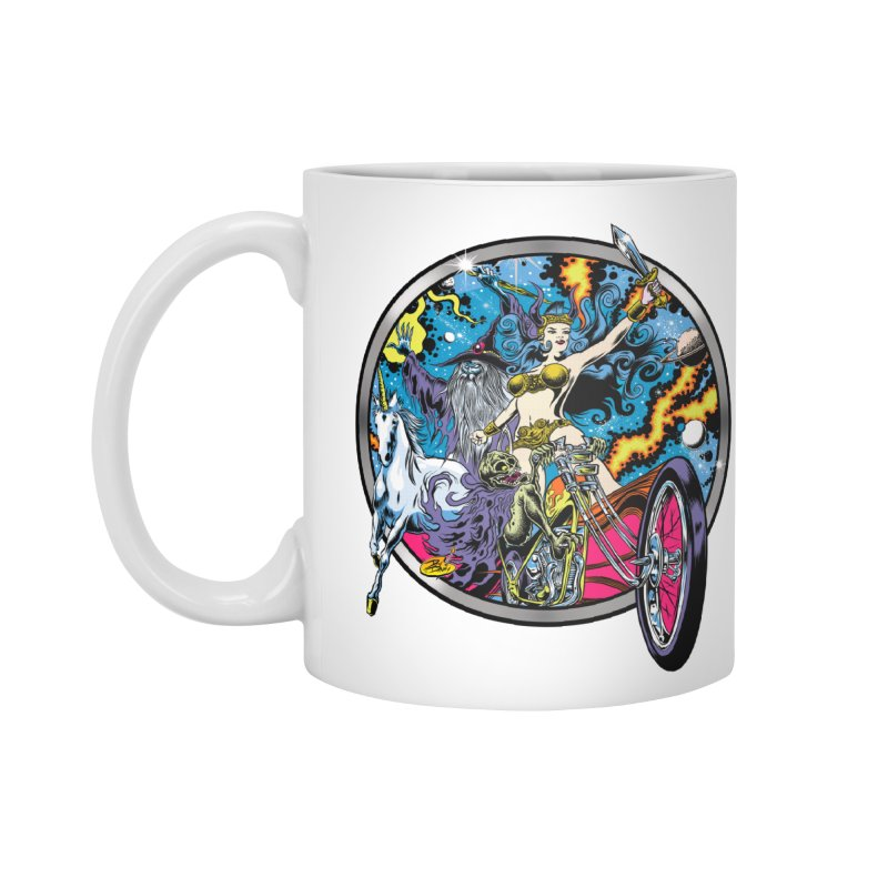 Blacklight Rebellion Accessories Standard Mug by Dirty Donny's Apparel Shop