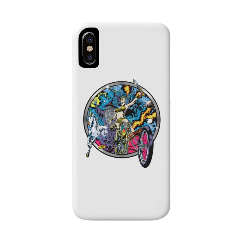 Blacklight Rebellion Accessories Phone Case by Dirty Donny's Apparel Shop