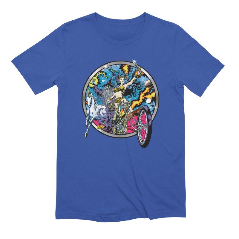 Blacklight Rebellion Men's Extra Soft T-Shirt by Dirty Donny's Apparel Shop
