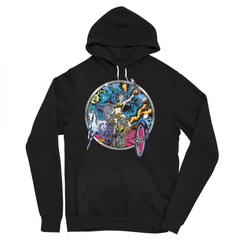 Blacklight Rebellion Men's Sponge Fleece Pullover Hoody by Dirty Donny's Apparel Shop
