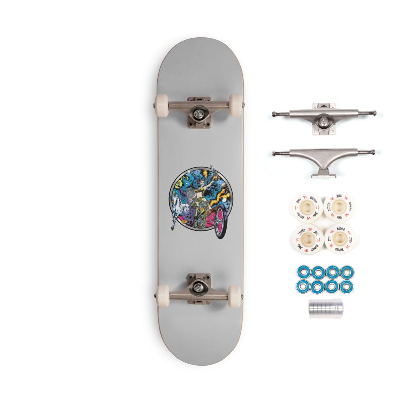 Blacklight Rebellion Accessories Complete - Premium Skateboard by Dirty Donny's Apparel Shop