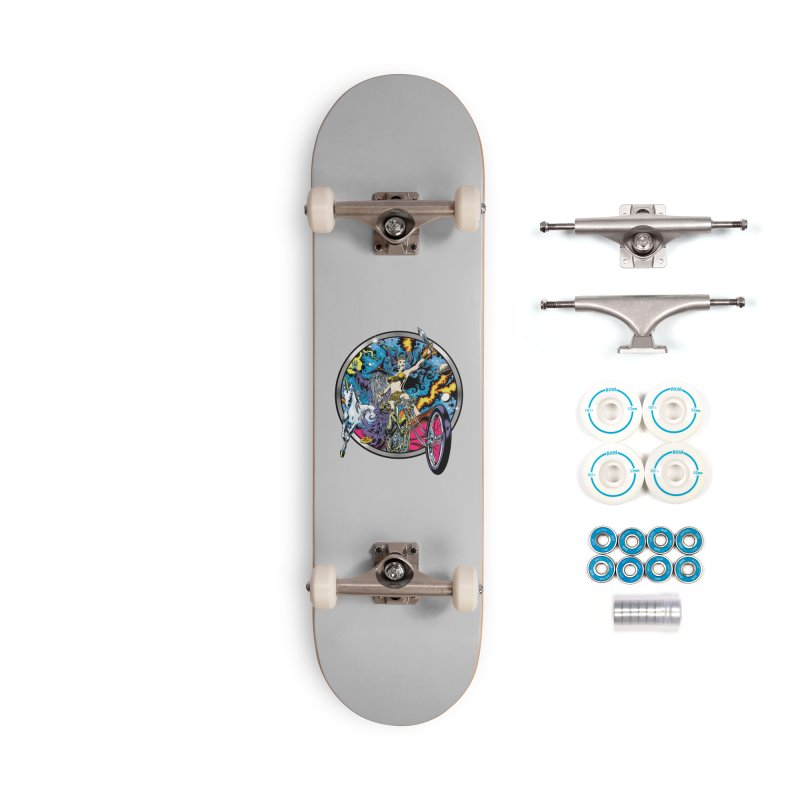Blacklight Rebellion Accessories Skateboard by Dirty Donny's Apparel Shop