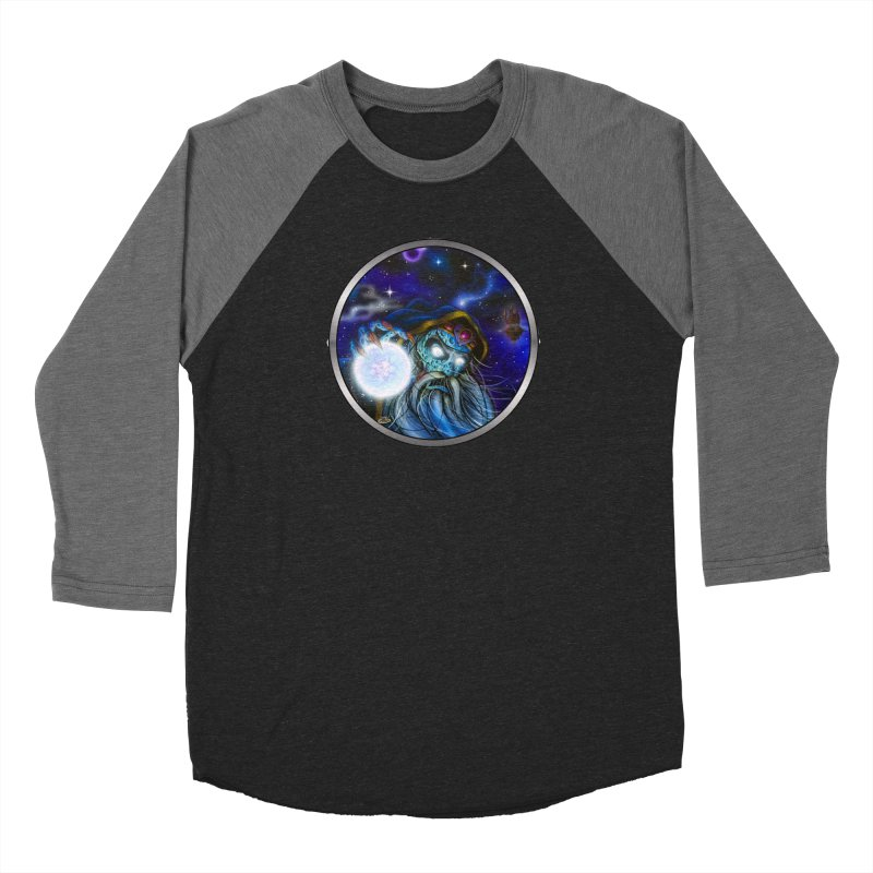 Sorcery Men's Baseball Triblend Longsleeve T-Shirt by Dirty Donny's Apparel Shop