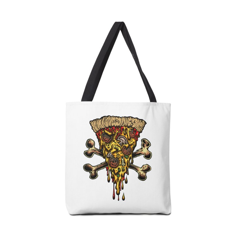 Death slice Accessories Tote Bag Bag by Dirty Donny's Apparel Shop