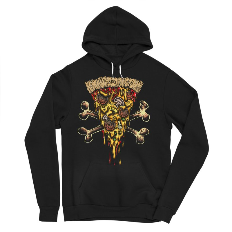 Death slice Men's Sponge Fleece Pullover Hoody by Dirty Donny's Apparel Shop