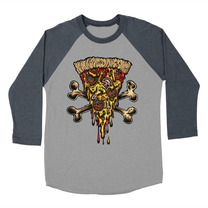 Death slice Men's Baseball Triblend Longsleeve T-Shirt by Dirty Donny's Apparel Shop