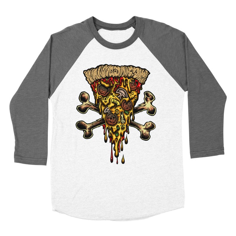 Death slice Men's Baseball Triblend Longsleeve T-Shirt by Dirty Donny's Apparel Shop