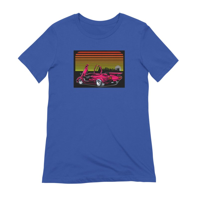 Miami nights Women's T-Shirt by Dirty Donny's Apparel Shop