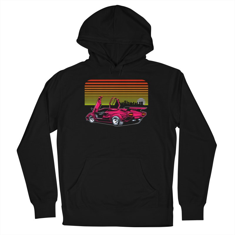 Miami nights Men's Pullover Hoody by Dirty Donny's Apparel Shop
