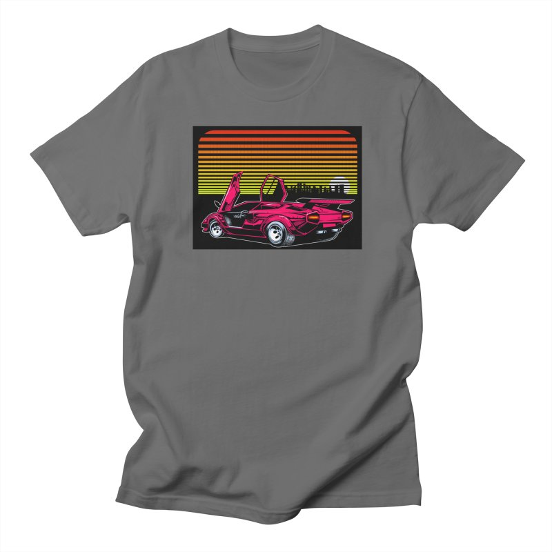 Miami nights Women's Regular Unisex T-Shirt by Dirty Donny's Apparel Shop