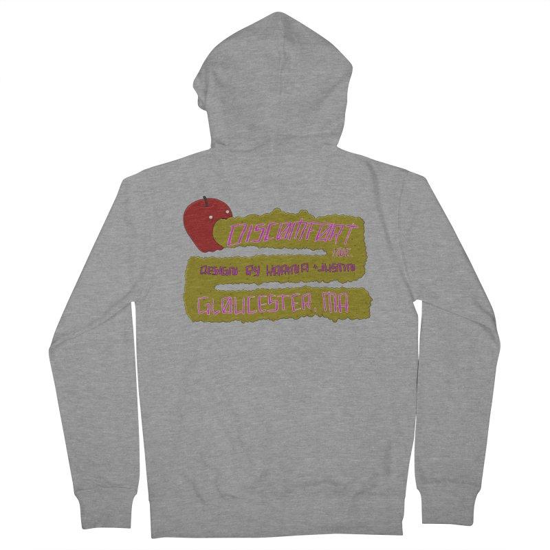 Apple Johnnyseed Women's Zip-Up Hoody by discomfort's Artist Shop
