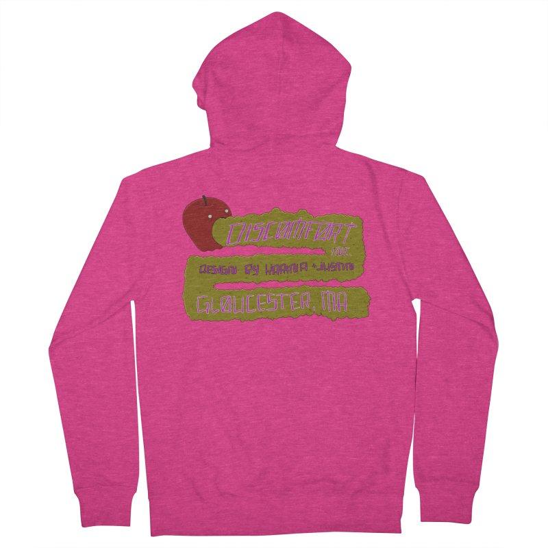 Apple Johnnyseed Women's Zip-Up Hoody by DISCOMFORT! Low Brow Vibes