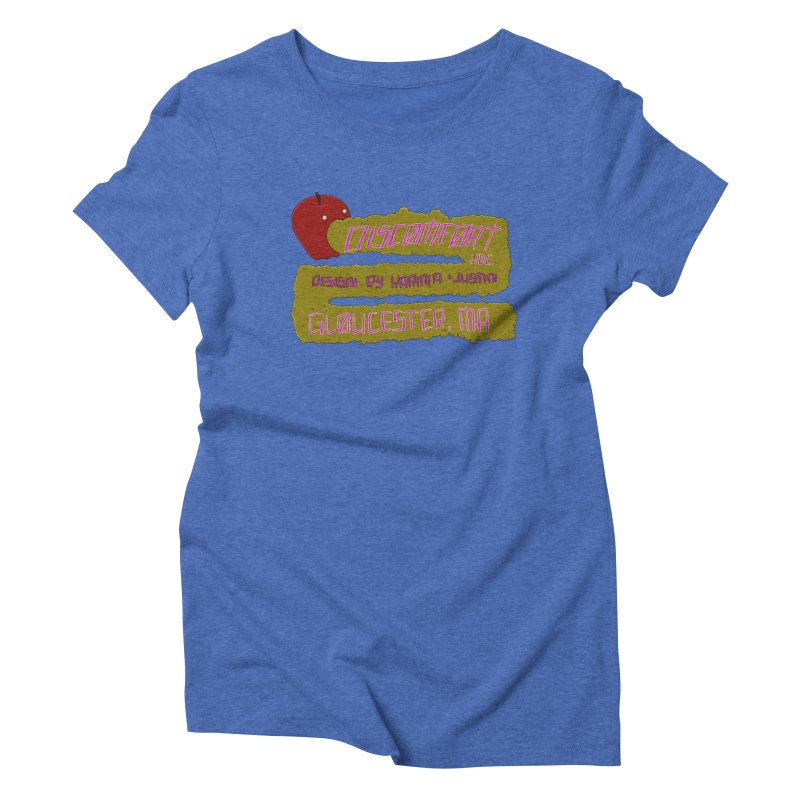 Apple Johnnyseed Women's Triblend T-shirt by discomfort's Artist Shop