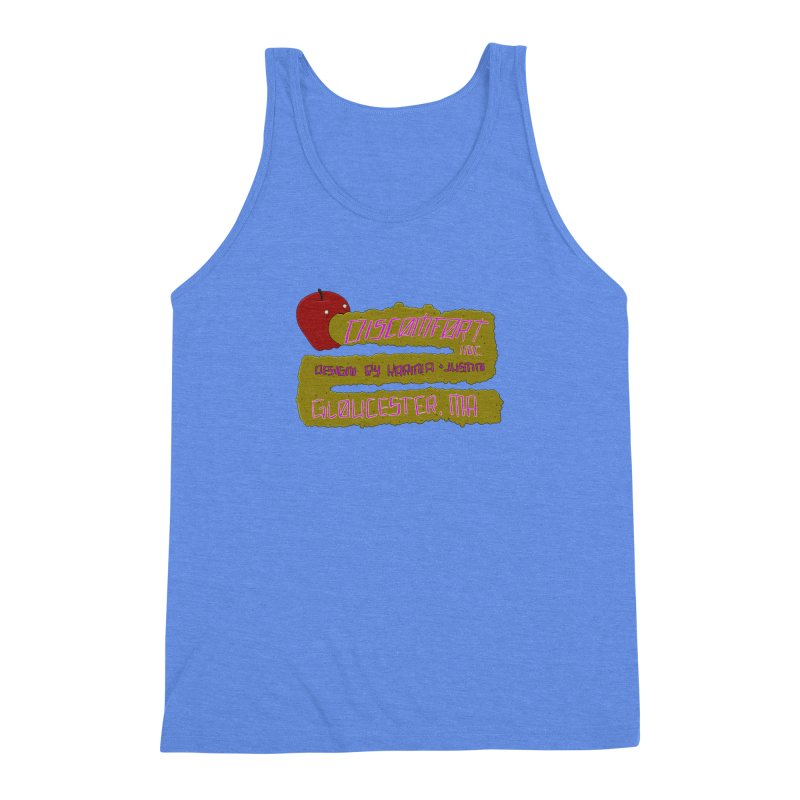 Apple Johnnyseed Men's Triblend Tank by discomfort's Artist Shop