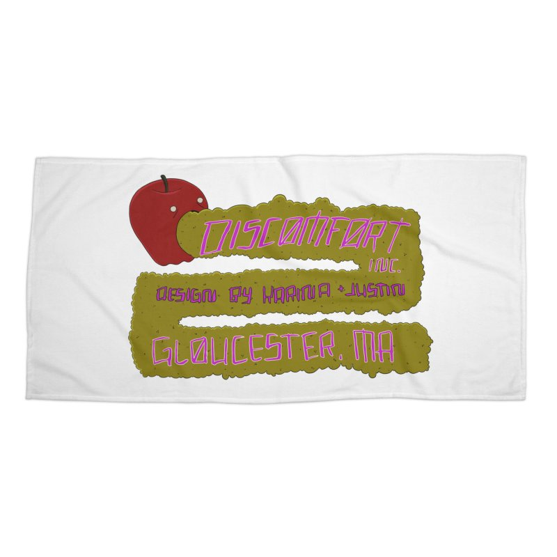 Apple Johnnyseed Accessories Beach Towel by DISCOMFORT! Low Brow Vibes