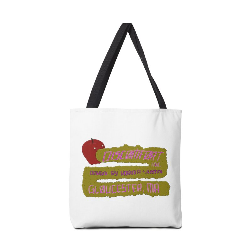 Apple Johnnyseed Accessories Bag by DISCOMFORT! Low Brow Vibes