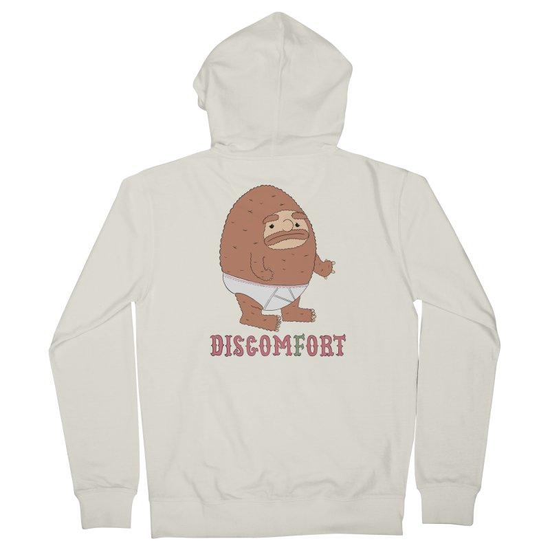 Tighties Women's Zip-Up Hoody by DISCOMFORT! Low Brow Vibes