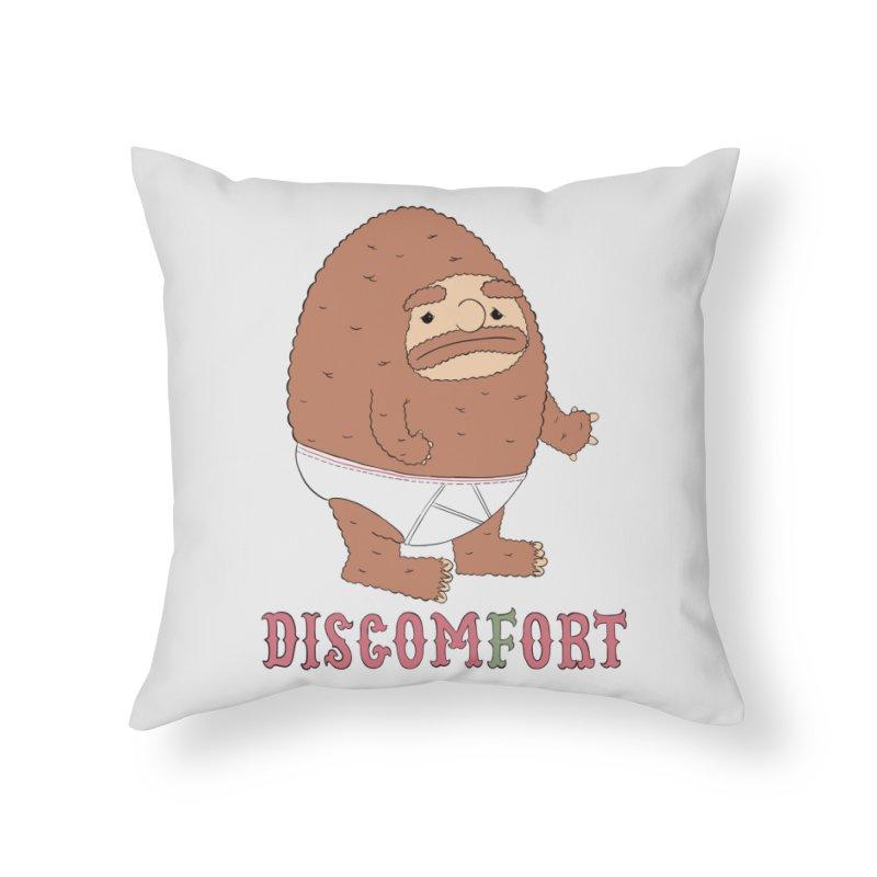 Tighties Home Throw Pillow by discomfort's Artist Shop