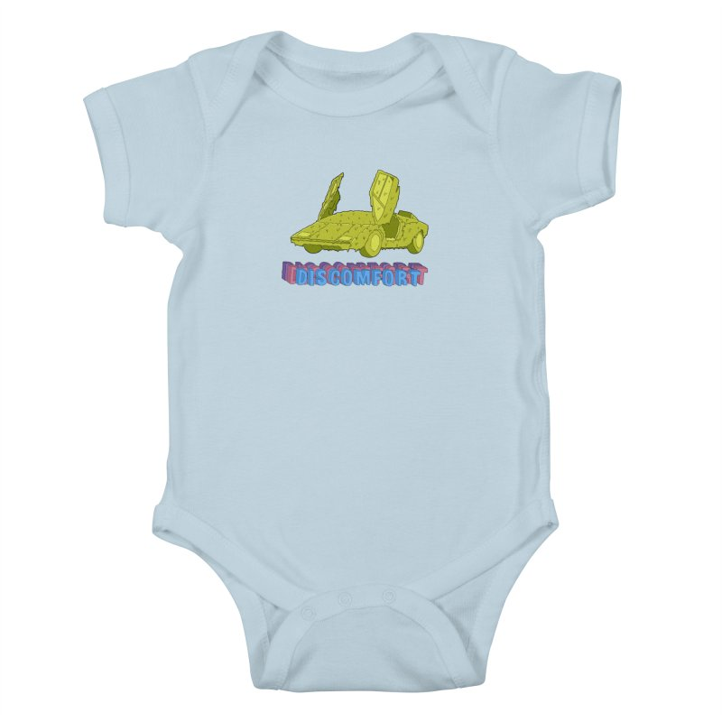 Boogerghini Kids Baby Bodysuit by —Discomfort Incorporated—    Low Brow Vibes