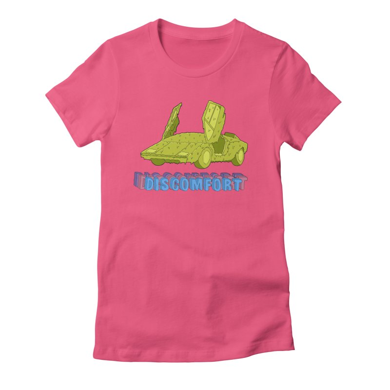 Boogerghini Women's Fitted T-Shirt by discomfort's Artist Shop