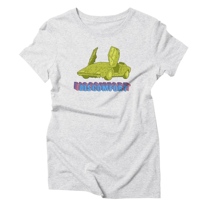 Boogerghini Women's Triblend T-Shirt by —Discomfort Incorporated—    Low Brow Vibes