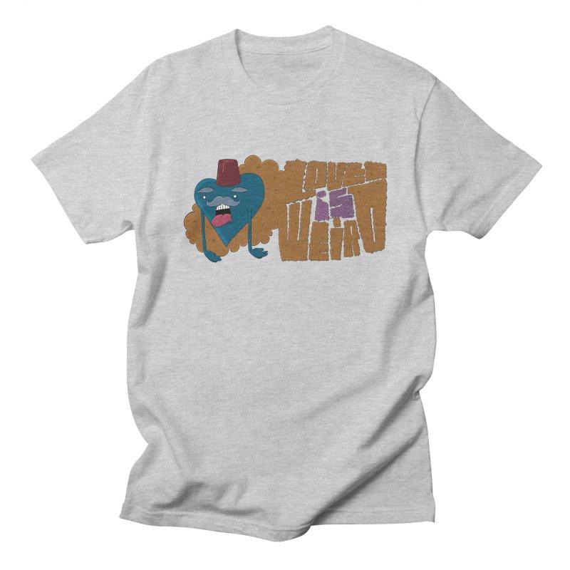 Love is Weird Men's T-shirt by discomfort's Artist Shop