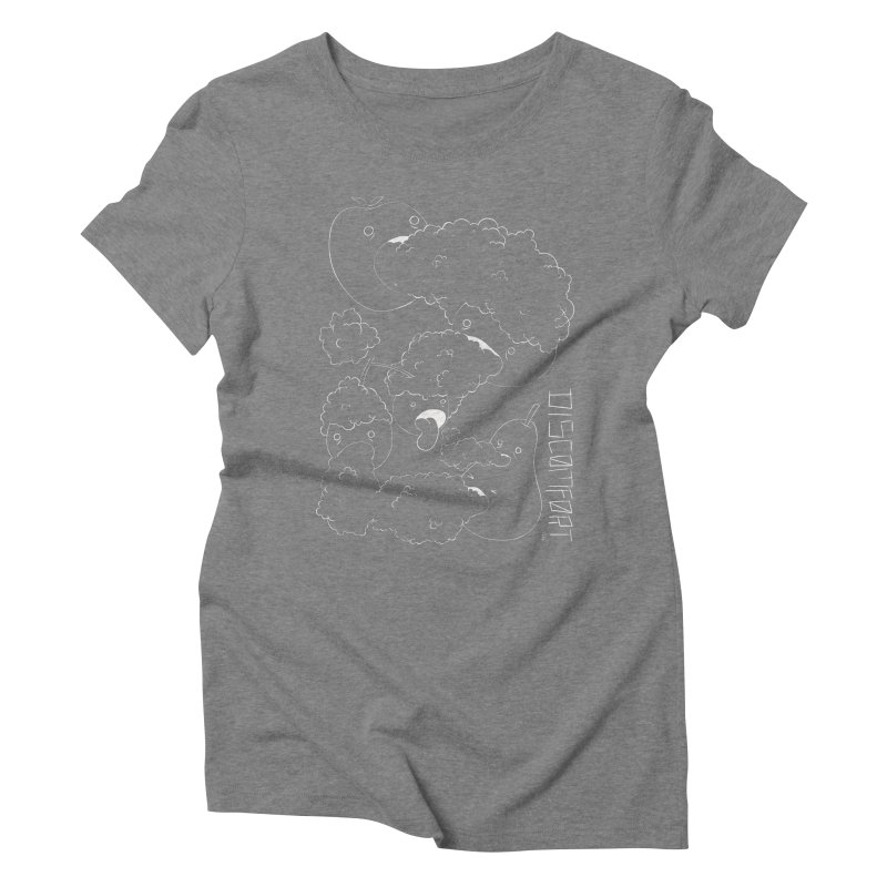 Like Yawning Women's Triblend T-Shirt by DISCOMFORT! Low Brow Vibes