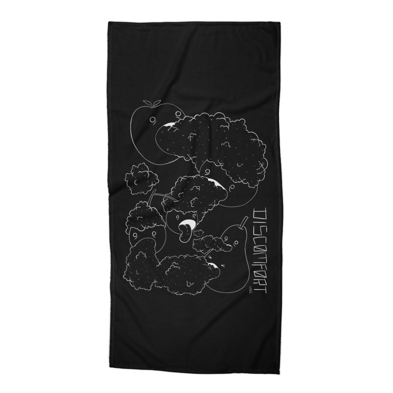 Like Yawning Accessories Beach Towel by DISCOMFORT! Low Brow Vibes