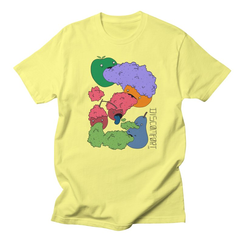 Like Yawning (Color) Men's T-Shirt by —Discomfort Incorporated—    Low Brow Vibes