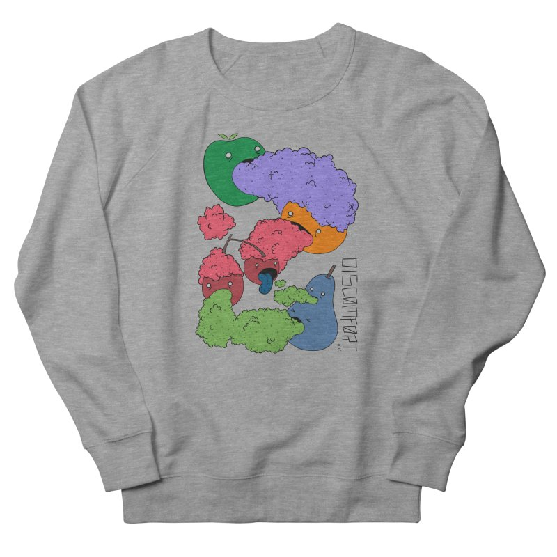Like Yawning (Color) Men's Sweatshirt by DISCOMFORT! Low Brow Vibes