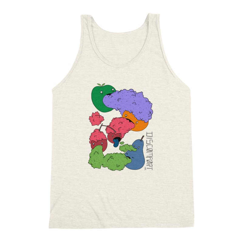 Like Yawning (Color) Men's Triblend Tank by —Discomfort Incorporated—    Low Brow Vibes