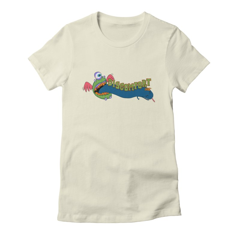 Floss More Women's Fitted T-Shirt by —Discomfort Incorporated—    Low Brow Vibes